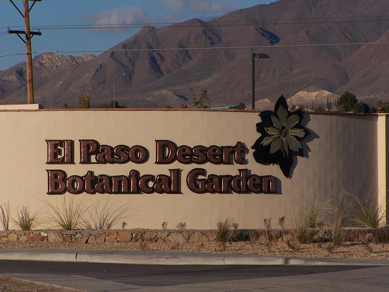 El Paso Desert Botanical Garden